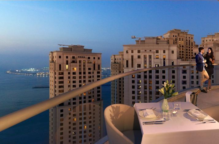 Dining under the stars in Dubai