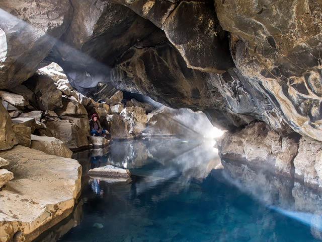 Grjótagjá Cave Iceland