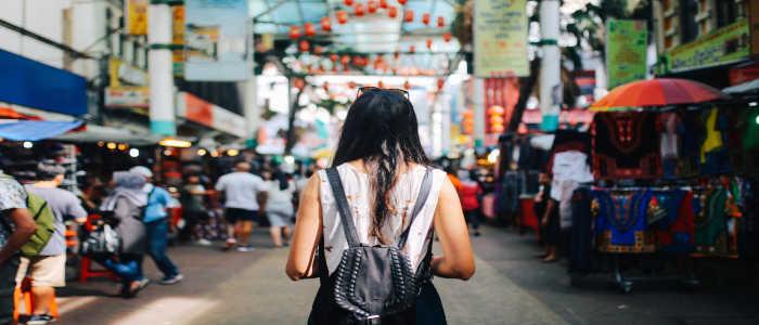 malysia street market