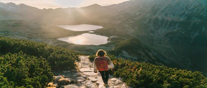 hiking poland