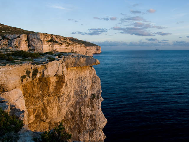 Cliffs of Mtahleb, Malta