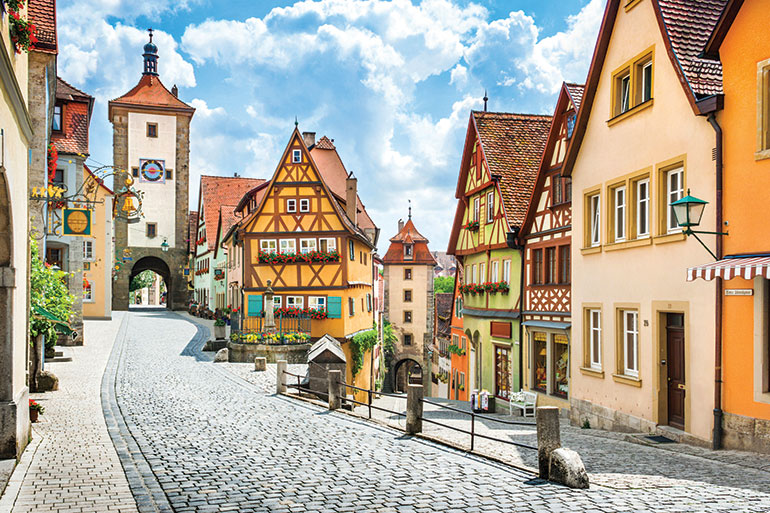 German house village