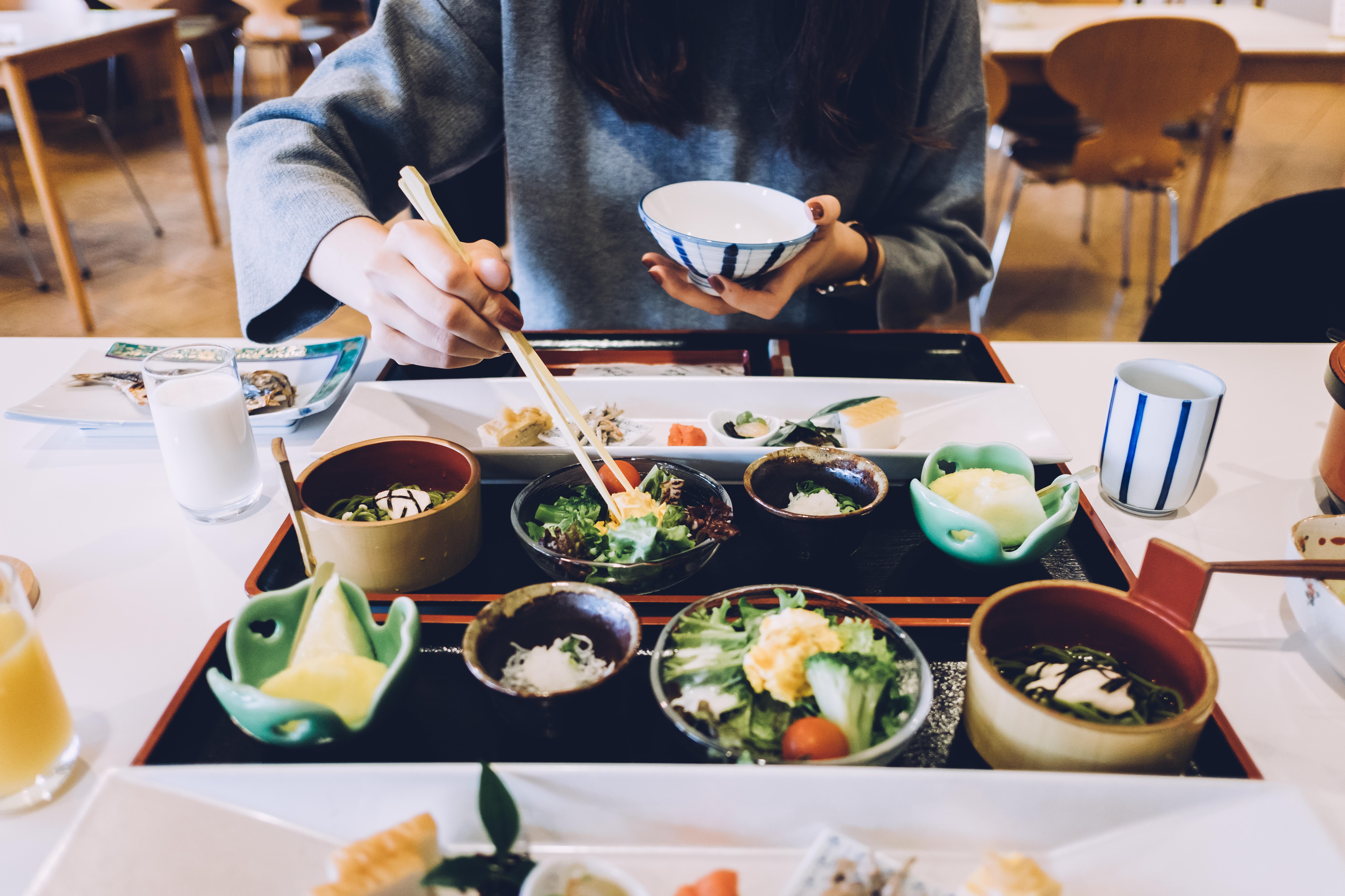 Japanese meal box