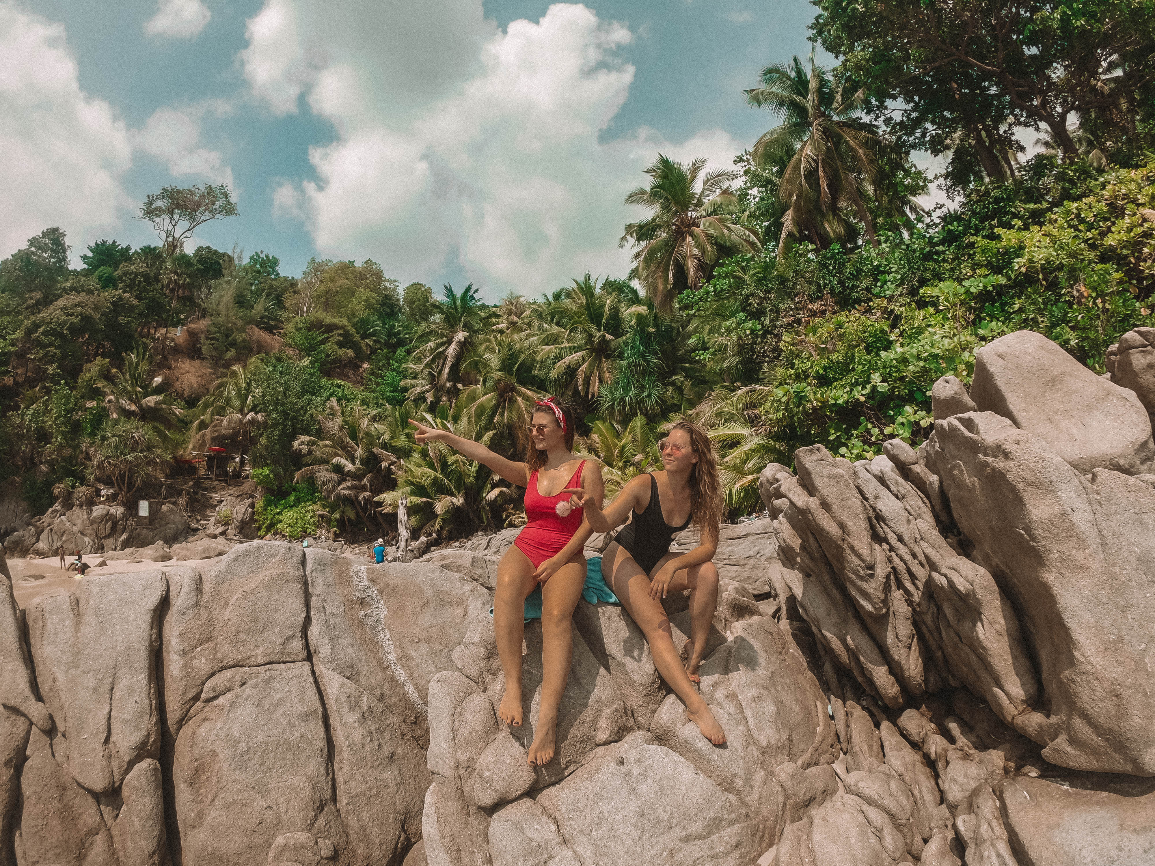 Girls at Freedom Beach Patong