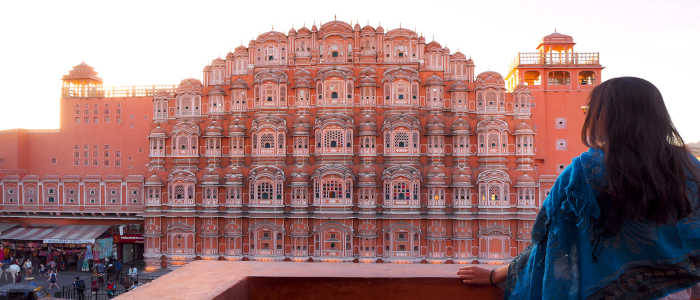 red building india