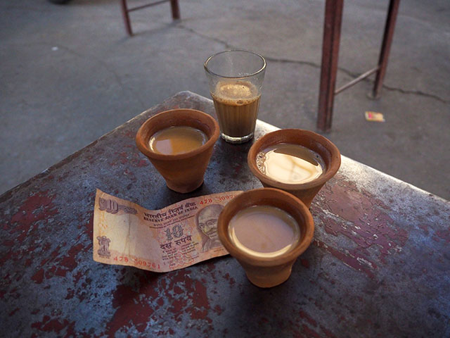 Masala Chai and India Rupees