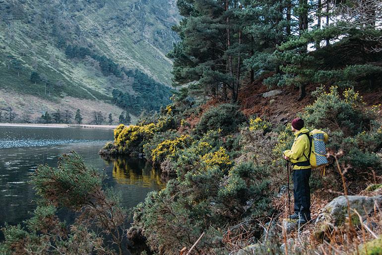 Ireland nature hike