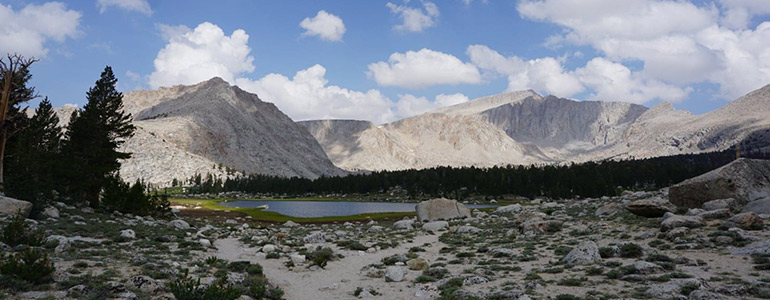 Mountains on the John Muir Trail