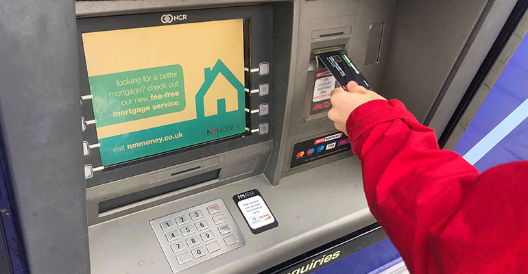 Currency Pass at ATM