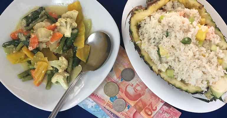 Peso and food