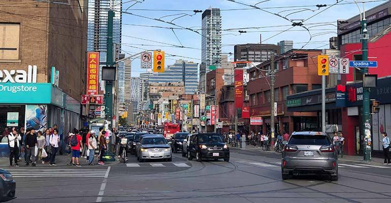 Toronto street