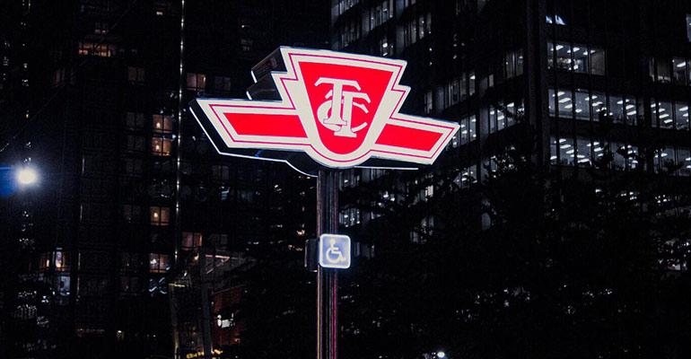 TTC sign