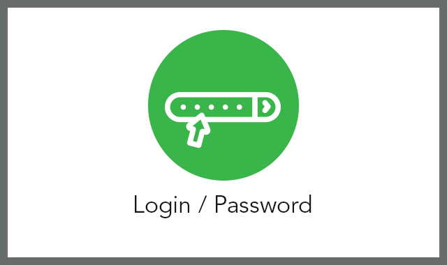 Login password FAQ tile