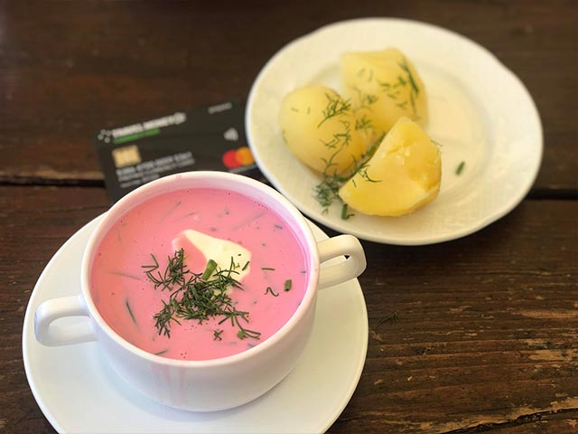 Beetroot Soup in the Baltics