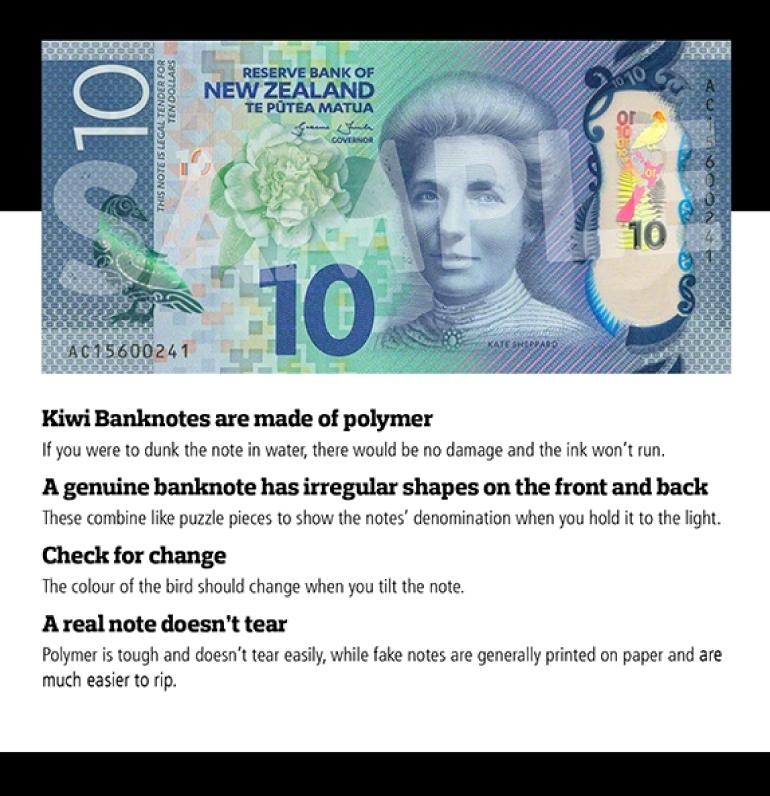 NZ banknote
