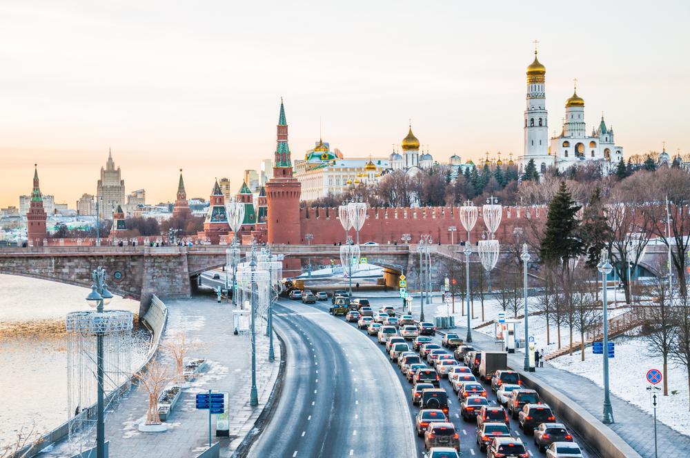 Russian traffic