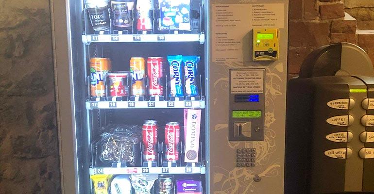 Estonia vending machine