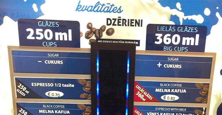 Latvia Vending Machine
