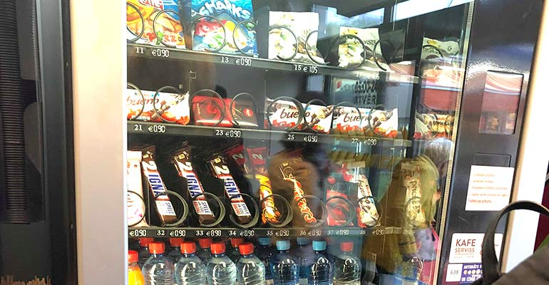 Latvia Vending Machine
