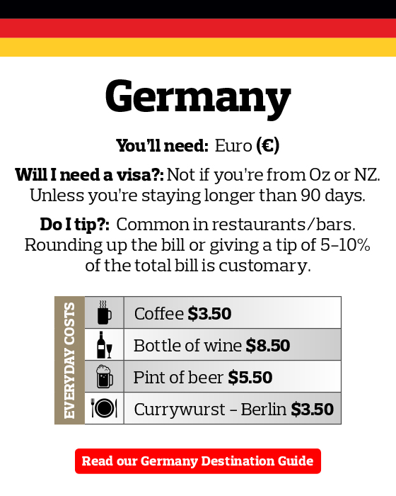 Germany Travel Money Guide