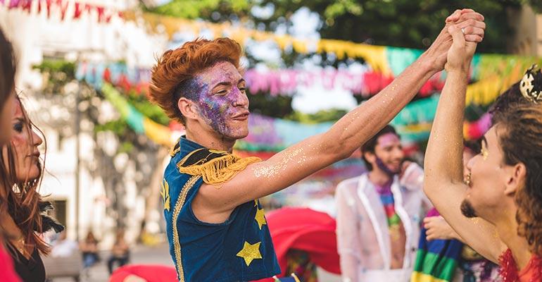 Pride celebration