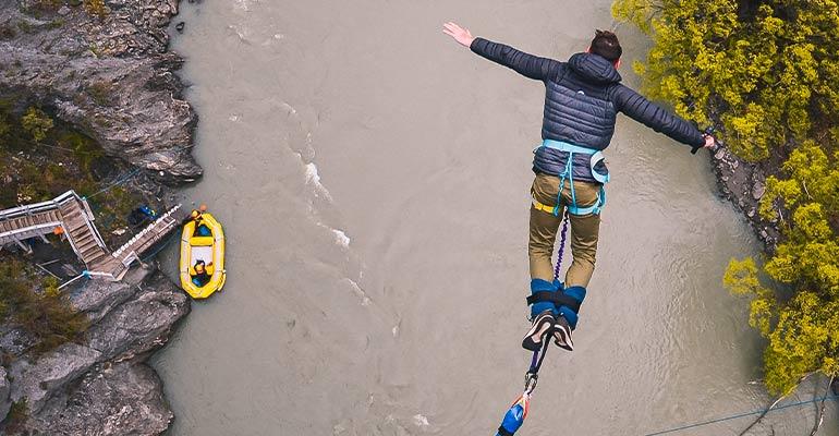 Bungy jump Queenstown