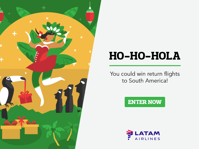 Win south america flights