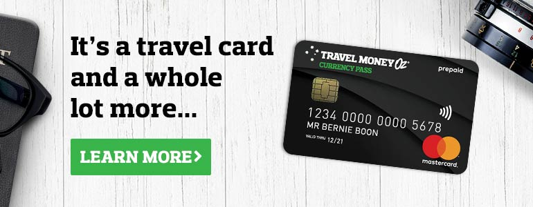 Travel Money Oz Currency Pass