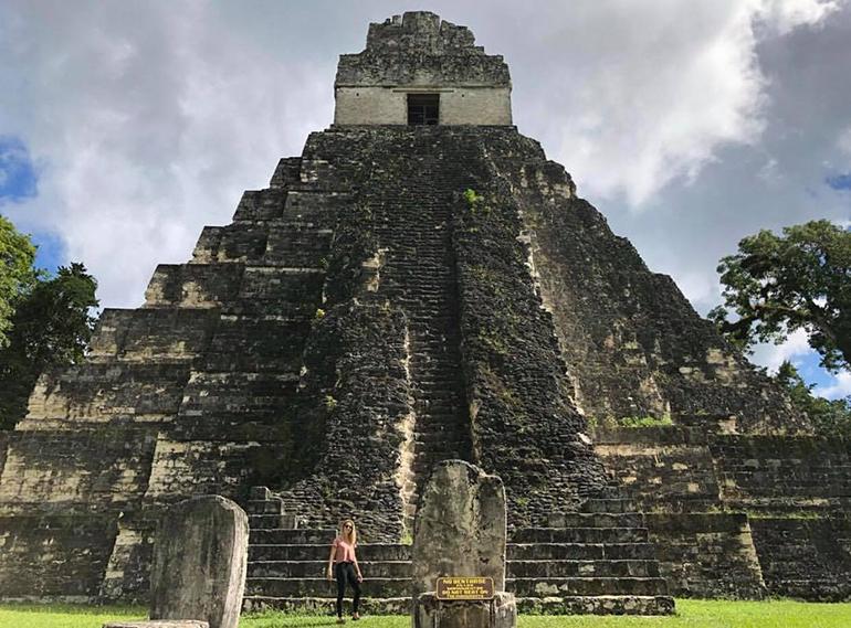 Tikal Temple Guatemala