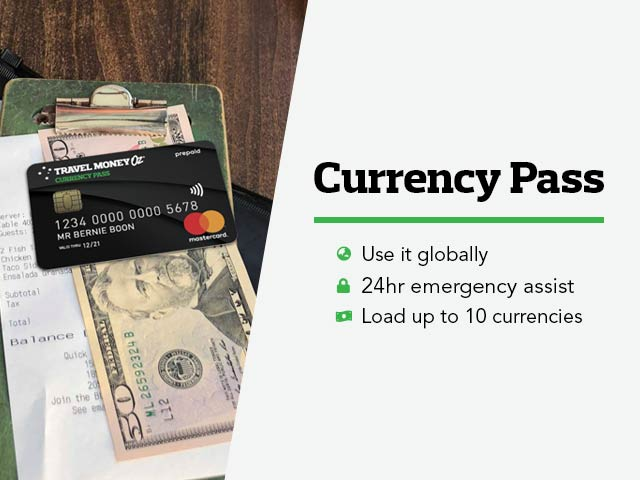 Travel Money Oz Currency Exchange Cards