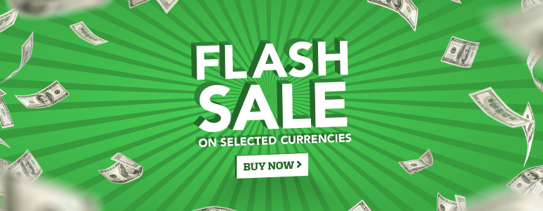 Click frenzy currency sale