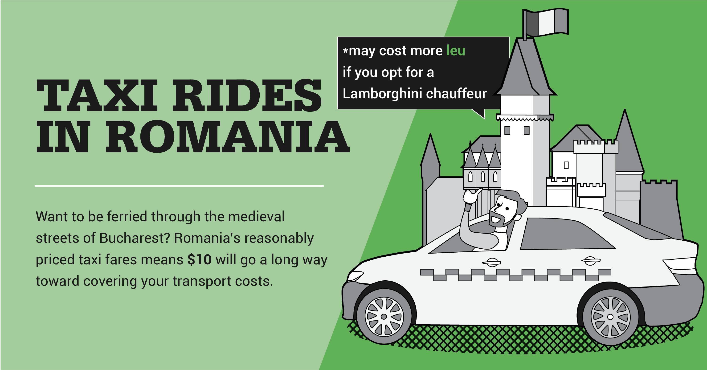 Taxi rides in Romania
