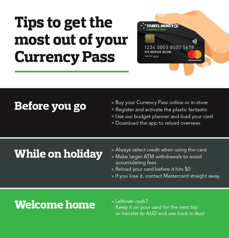 Currency Pass tips