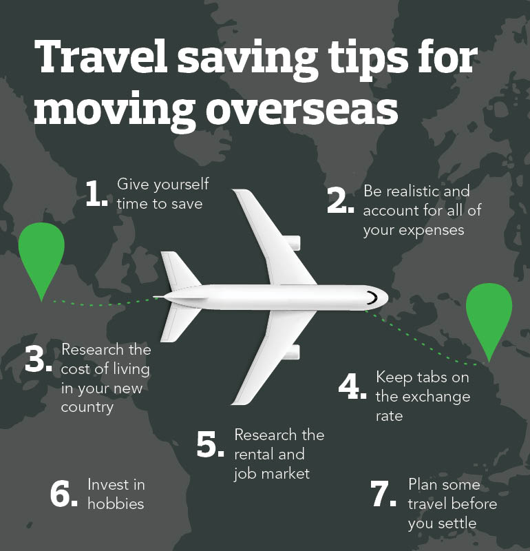 Moving overseas travel tips
