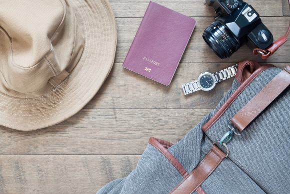 Essential items for in-transit travelling