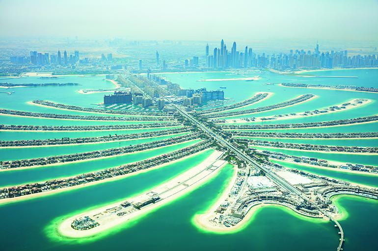 UAE beach