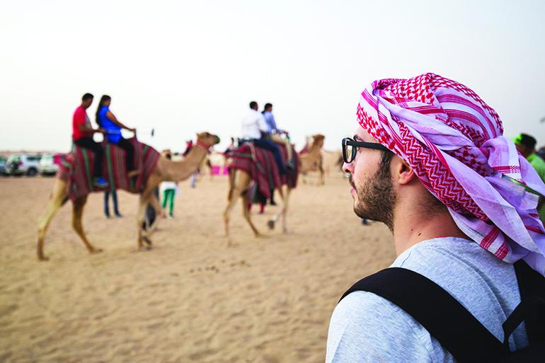 UAE camel