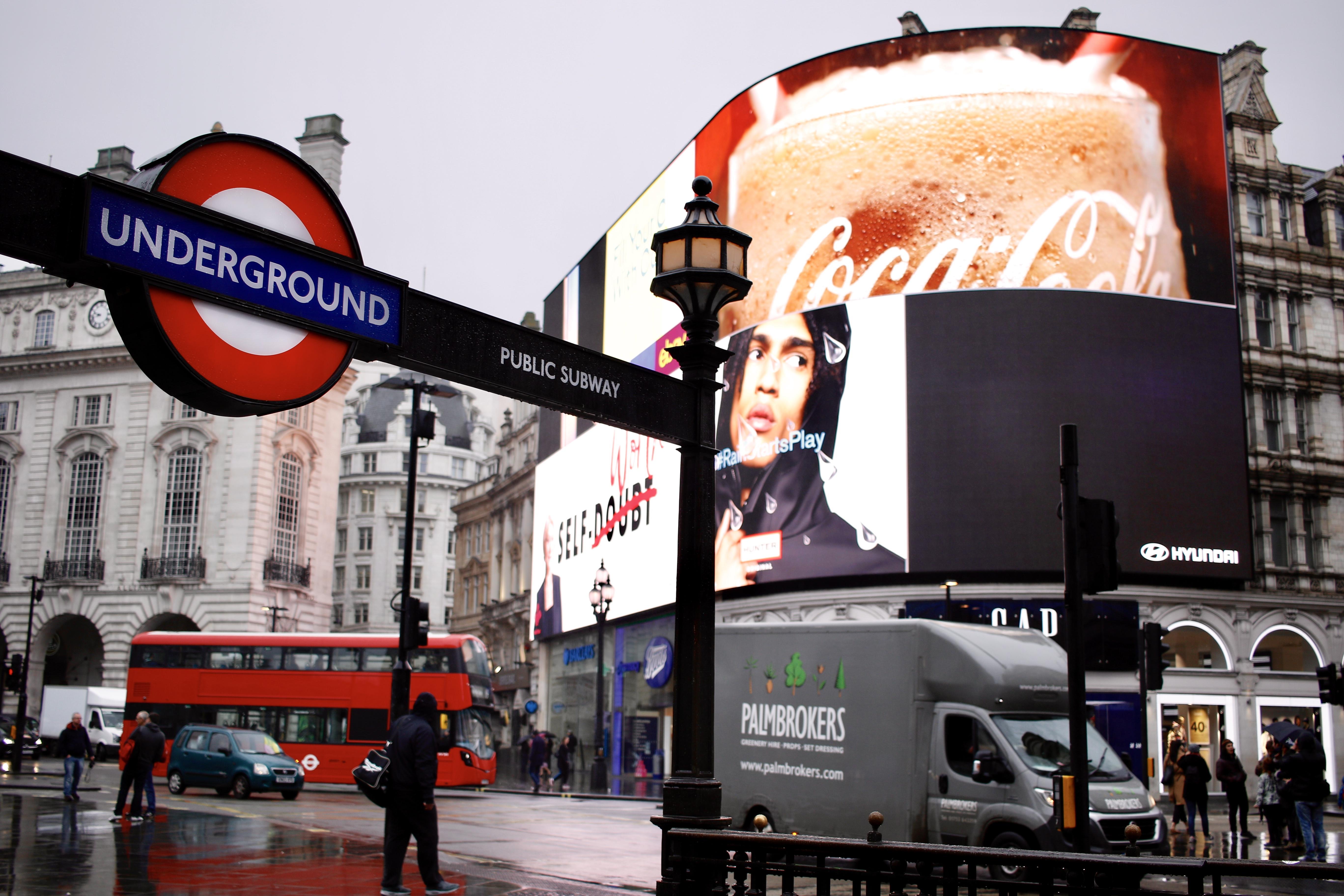 london underground and bus