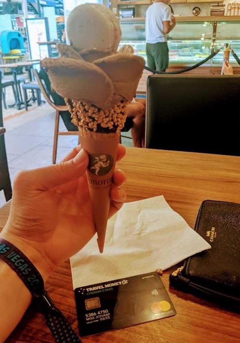 Flower gelato