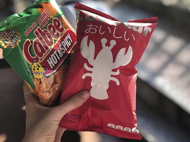 Singapore snacks