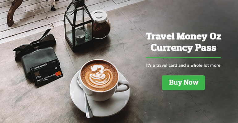Currency Pass with coffee
