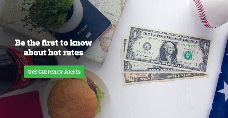 USD rate alerts