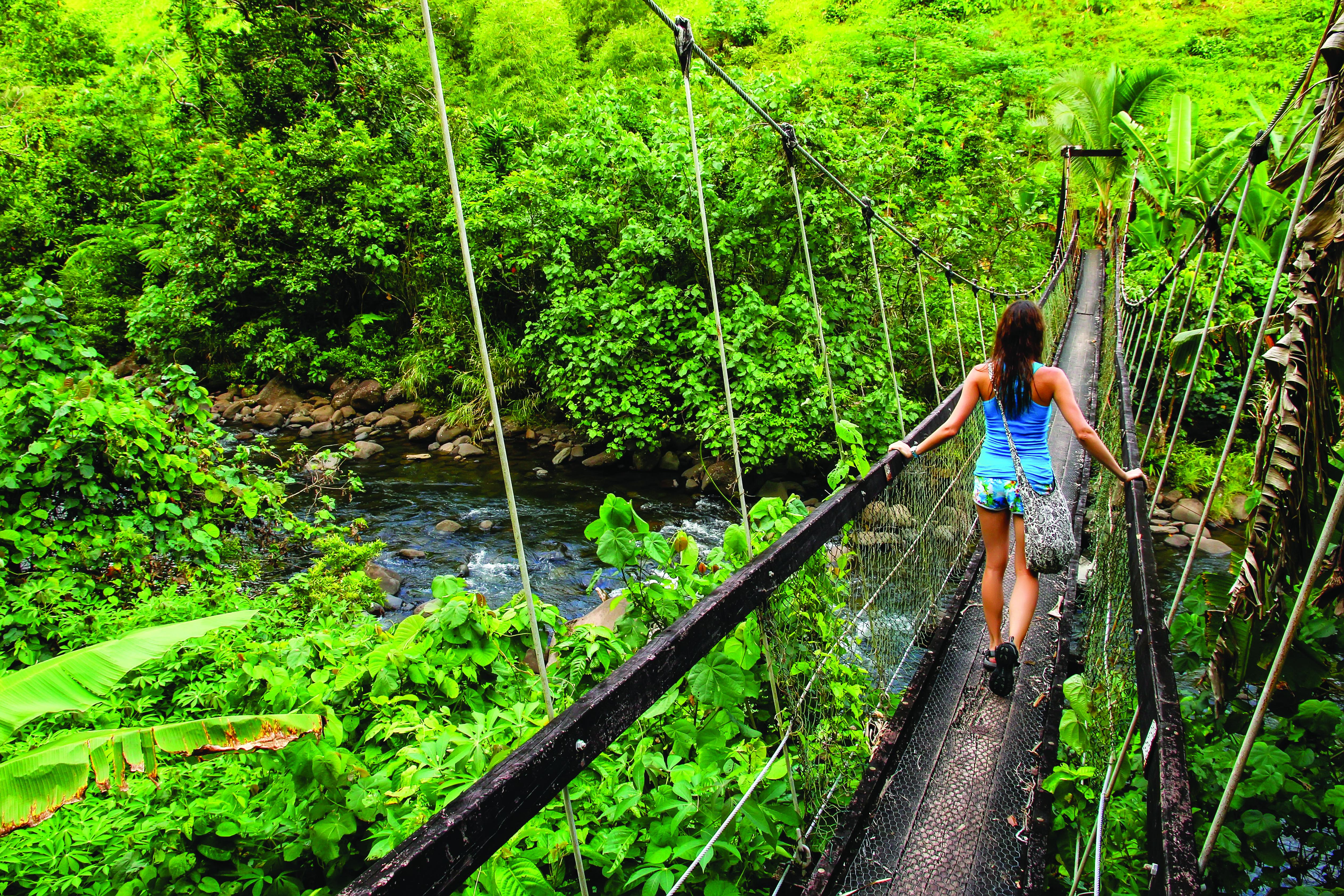 Fiji mountain walk