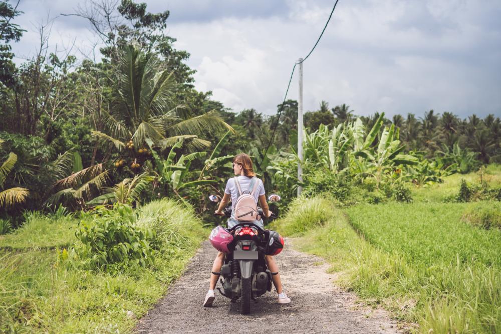 Indonesia biking
