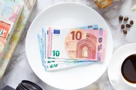 Euro flatlay
