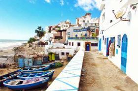 Morocco Seaside town