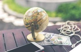Globe and planner
