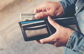 Cash in wallet