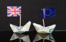 Origami currency and flags