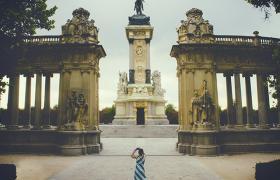 Girl in Madrid